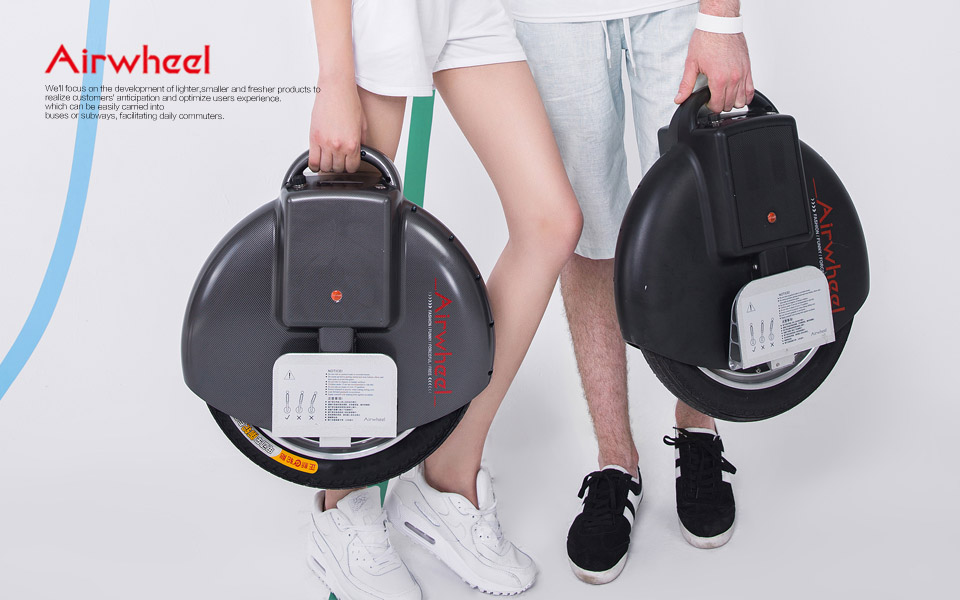 Airwheel Electric Self-balancing Scooter–Magnificent Futuristic Vehicle