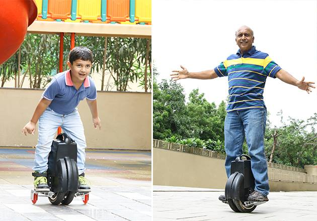 Airwheel Electric Self-balancing Scooter Renders Your Trip More Fun