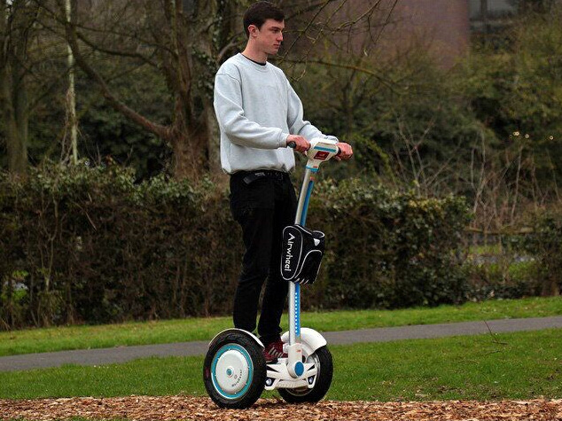 Travel with Music, Enjoy the Passion of Fashion-Airwheel S3 Two-Wheeled Self-balancing Scooter